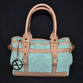 кожаная сумка Francesco biasia, оригинал