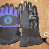 теплые мужские перчатки XL