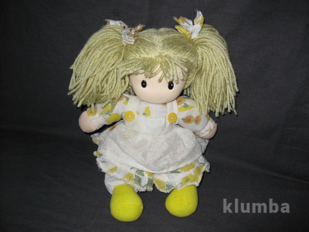 Поющая мягконабивная куколка фото №1