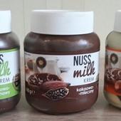 Шоколадная паста Nuss Milk 400гр. Германия