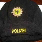 Фірмова стильная шапка шапочка .Police.Germany.