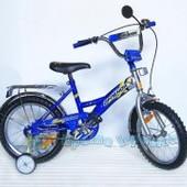 "Велосипед 2-х колес 12-Орленок"" СИН,с звонком,зеркалами,задним и руч.торм"