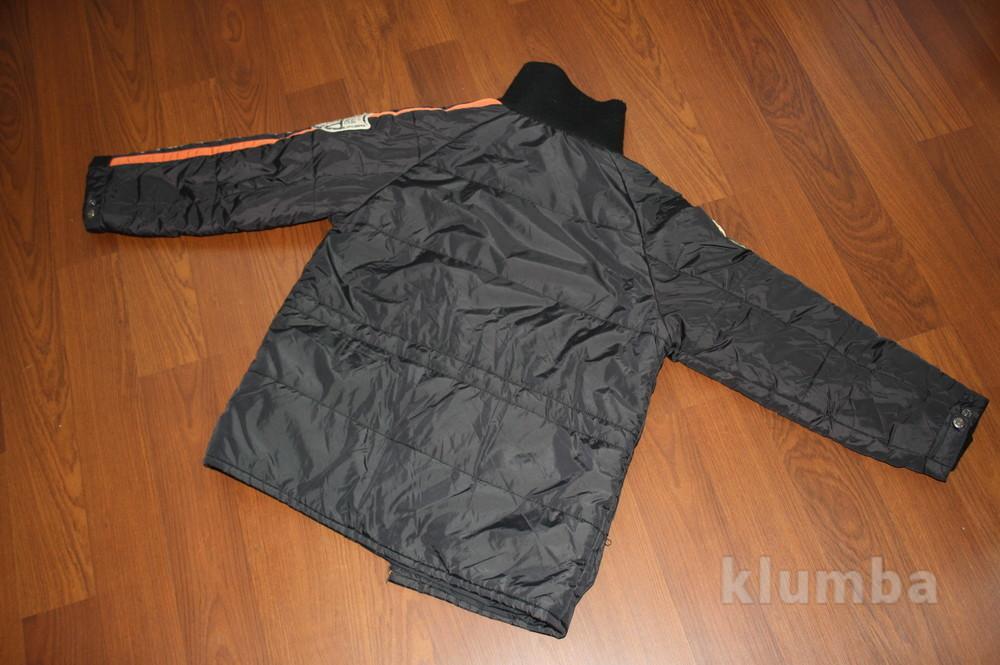 12-14 лет (152-158 см) replay(италия) демисезонная куртка для мальчика. идеальное состояние фото №10