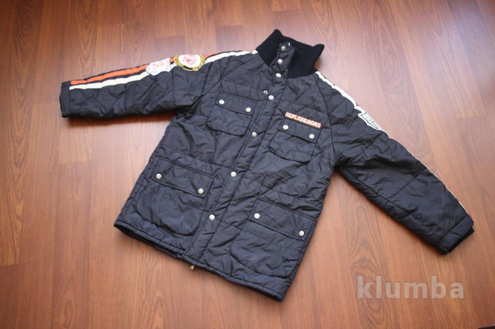 12-14 лет (152-158 см) replay(италия) демисезонная куртка для мальчика. идеальное состояние фото №1