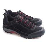 Спортивные ботинки из экокожи черного цвета под нубук