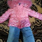 Курточка и комбинезон для девочки