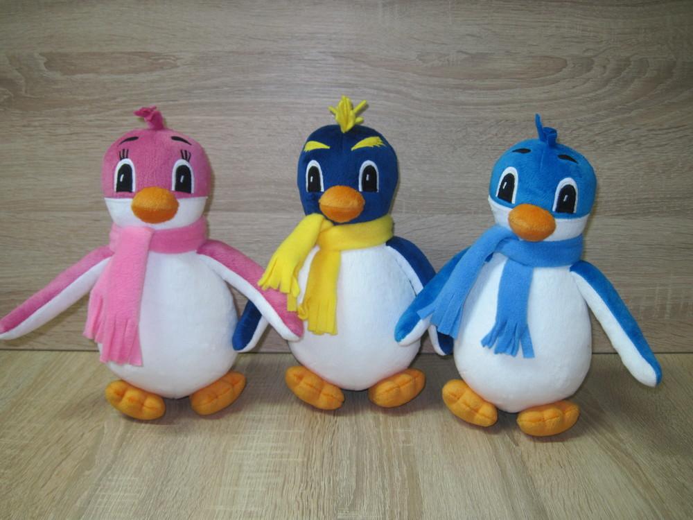 Мягкая игрушка пингвин лоло ручная работа фото №1