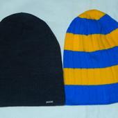 Распродажа!Стильные удлиненные шапки-колпак,сзади на складочку,р-р универсальный 56-60 см