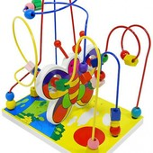 Пальчиковый лабиринт большой «Бабочка», Мир деревянных игрушек