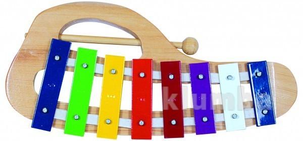 Металлофон детский музыкальный инструмент фото №1