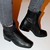 Ботинки Medicus, Германия, кожа, мех, 37,5 р