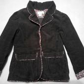 Пиджак на девочку вельвет рост 122,на 6-7лет  H&M