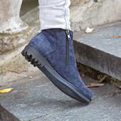 Ботинки замшевые21457
