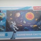 """Пазл """"Солнечная система"""" 100ел., Trefl, 15529"""