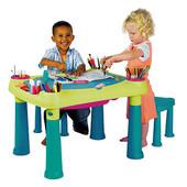 Израиль! Стол для творчества и 2 табуретки, Creative Table + 2 stools, артикул 17184184