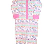 Слипы, человечки, сдельные пижамы хлопок Хелло Китти, Primark Англия на 1-5 лет