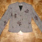 суперовый приталенный пиджак Andrea размер 44-М состояние отличное