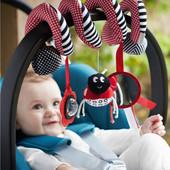 Подвески спиральки на коляску, кроватку Mamas & Papas