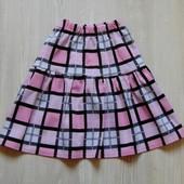 Яркая и стильная юбка для девочки. Размер 11-12 лет. Состояние: новой вещи.