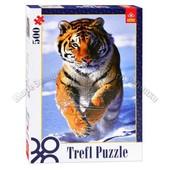 "Пазлы Trefl ""Снежный тигр"" 500эл 37009"