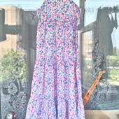 Цветочное платье для девочки 8 -10 лет ( 128 -140)  Chaps