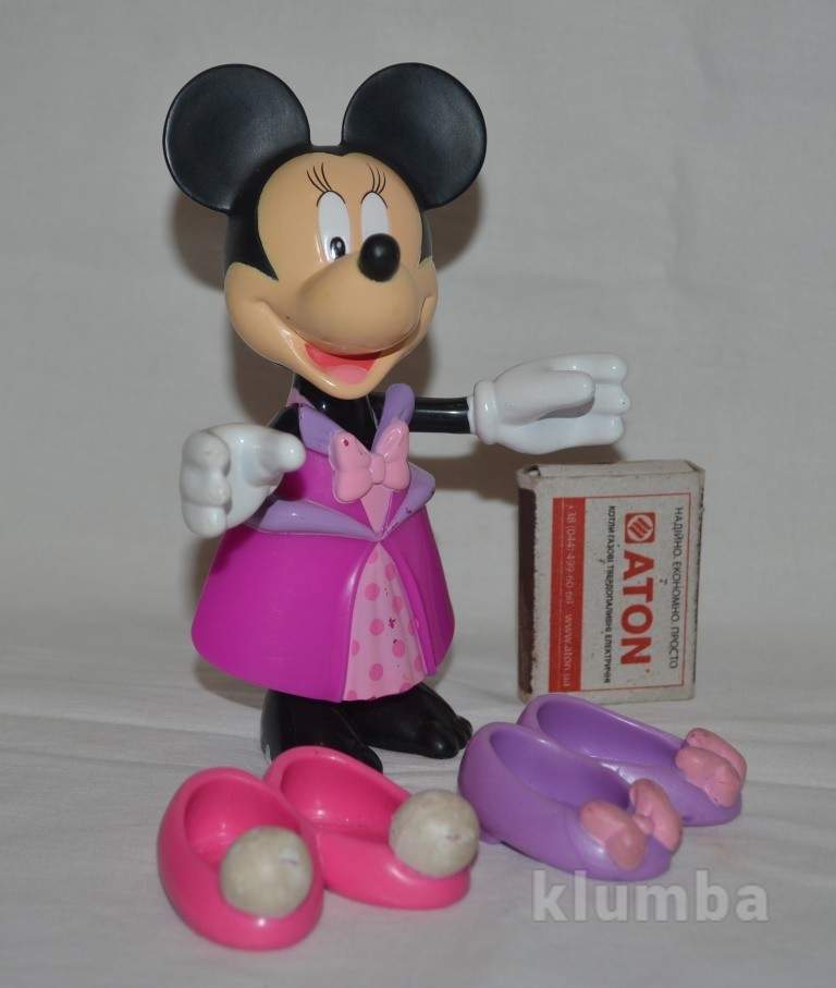 Fisher price минни маус minnie mouse с нарядами фото №1