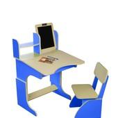 Растущая парта с мольбертом +стульчик феникс Украина бесплатная доставка