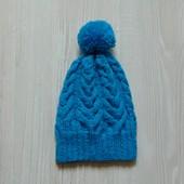 Яркая шапочка для мальчика. Размер 3-5 лет. На объем головы до 50 см.