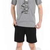 Комплекты Gazzaz для мужчин  футболка, шорты  s, l.