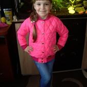 Весенняя новинка, куртка деми для девочки