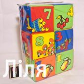 Мягкие кубики для детей в ассортим.