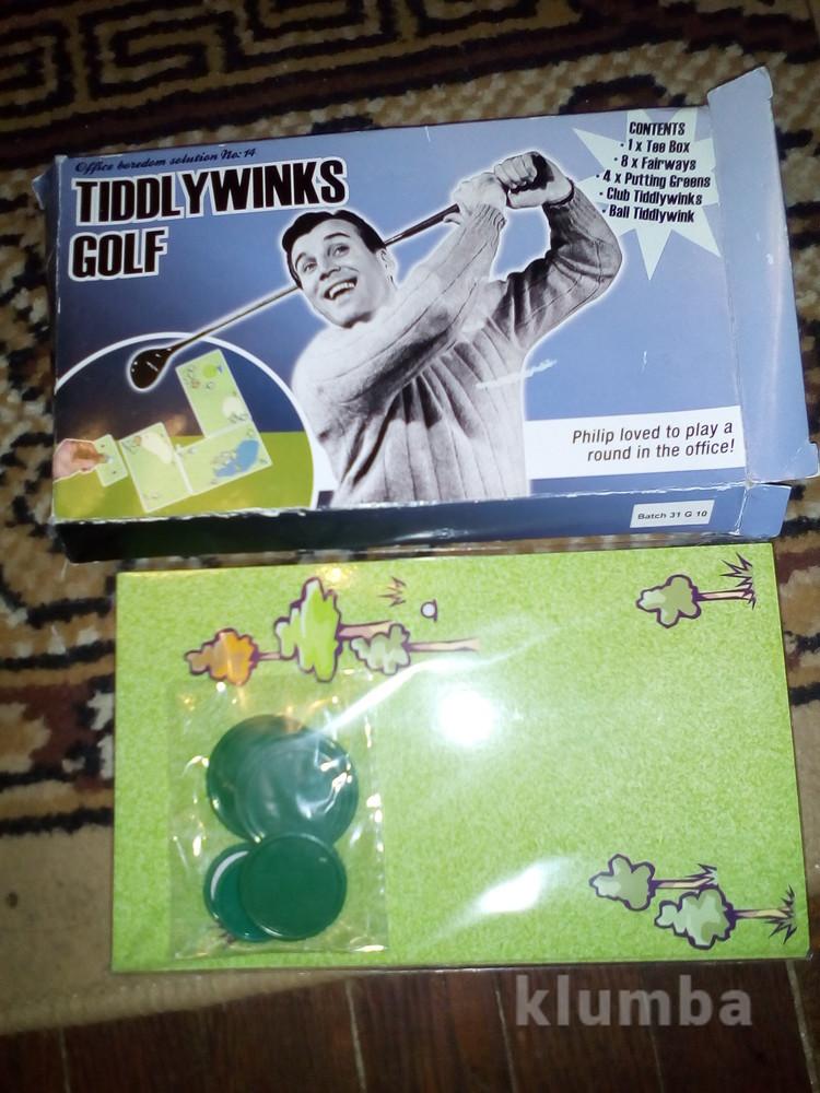 Настоьная игра гольф фото №1