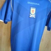 Фірмова футболка зб .Шотландії.Diadora.