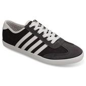 Мужские кроссовки черно-серого цвета