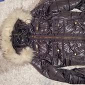 Демисезонная курточка Ostin, размер М.  Цвет шоколадный