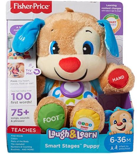 Fisher-price laugh & learn smart puppy умный щенок fisher-price (обновленный) фото №1
