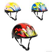 Детский защитный шлем код 466-120 для велосипедов роликов самокатов беговел