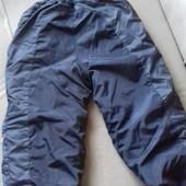 Зимние теплые штаны мальчику 128-140 см