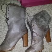 Шикарные ботиночки бренд натуральная кожа. Распродажа