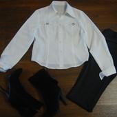 Белая блуза, размер L.