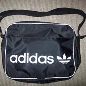 сумка  планшет Адидас отлично на тренировки