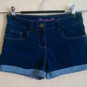 Мягкие джинсовые шортики Denim Co 7-8 л 128см