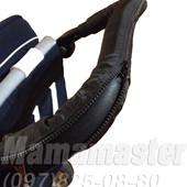 Тканевые чехлы на ручку и бампер коляски