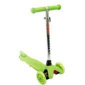 Акция Самокат Бест Скутер 466-112 трехколесный детский Best Scooter с светящимися колесами