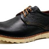 Туфли мужские спортивные Levi´s Desert черные