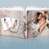 Шаблон №1 Романтическая фотокнига в распечатанном виде