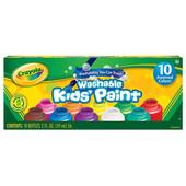 Краски для детей 10 цветов Крайола смываются