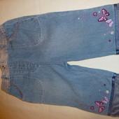 джинсы 6-9мес George