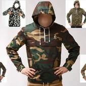 Мужская куртка Ветровка Анорак - 12 цветов Новинка