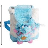 Рюкзак с голубым слоном 22 см